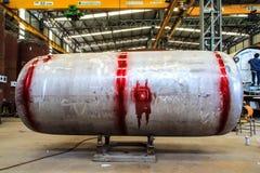 Teste do tanque de pressão. Imagem de Stock