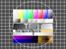 Teste a imagem Foto de Stock