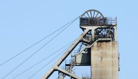 Teste motrici della miniera di carbone. Fotografie Stock