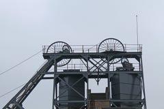 Teste motrici della miniera di carbone Fotografia Stock