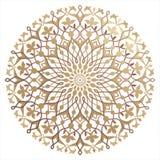 Teste padrão árabe ilustração royalty free