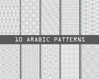 Teste padrão árabe Fotografia de Stock Royalty Free