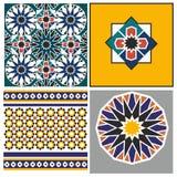 Teste padrão árabe Fotos de Stock Royalty Free