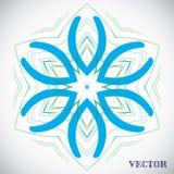 Teste padrão árabe geométrico Imagens de Stock