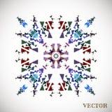 Teste padrão árabe geométrico Imagens de Stock Royalty Free