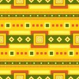 Teste padrão étnico Arte tribal Teste padrão africano Fundo do vetor ilustração royalty free