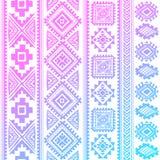 Teste padrão étnico do vintage tribal sem emenda Fotos de Stock Royalty Free