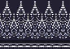 Teste padrão étnico geométrico Foto de Stock Royalty Free