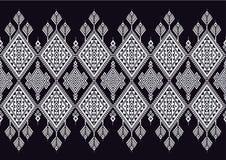 Teste padrão étnico geométrico Fotos de Stock Royalty Free