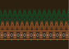 Teste padrão étnico geométrico Foto de Stock
