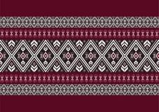 Teste padrão étnico geométrico Imagens de Stock Royalty Free