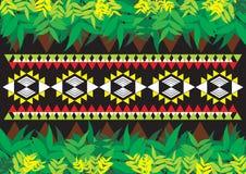 Teste padrão étnico geométrico Fotografia de Stock