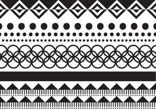 Teste padrão étnico geométrico Imagem de Stock