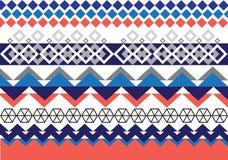 Teste padrão étnico geométrico Imagem de Stock Royalty Free