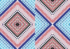 Teste padrão étnico geométrico Fotografia de Stock Royalty Free