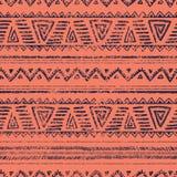 Teste padrão étnico geométrico sem emenda Ilustração do vetor Fotografia de Stock