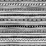 Teste padrão étnico geométrico sem emenda Rebecca 36 Fotografia de Stock Royalty Free