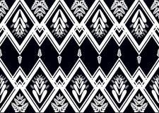 Teste padrão étnico Projeto geométrico do teste padrão para o fundo ou o papel de parede Fotos de Stock Royalty Free