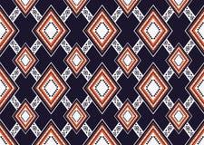 Teste padrão étnico Projeto geométrico do teste padrão para o fundo ou o papel de parede Imagens de Stock Royalty Free