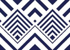 Teste padrão étnico Projeto geométrico do teste padrão para o fundo ou o papel de parede Foto de Stock