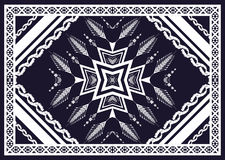 Teste padrão étnico Projeto geométrico do teste padrão para o fundo ou o papel de parede Imagem de Stock