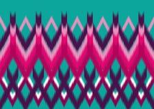 Teste padrão étnico Projeto geométrico do teste padrão para o fundo ou o papel de parede Imagem de Stock Royalty Free