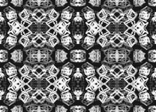 Teste padrão étnico Teste padrão sem emenda geométrico da aquarela ilustração do vetor