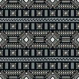 Teste padrão étnico sem emenda Ornamento geométrico colorido do vetor Fotografia de Stock