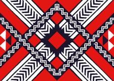 Teste padrão étnico Teste padrão geométrico Imagens de Stock Royalty Free