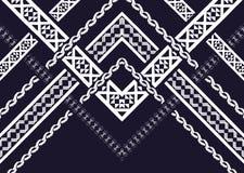 Teste padrão étnico Teste padrão geométrico Imagem de Stock