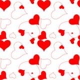 Teste padrão 2 do coração ilustração do vetor