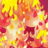 Teste padrão 2 do fundo da flama ilustração royalty free