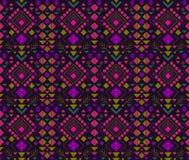 Teste padrão abstrato étnico Imagem de Stock Royalty Free