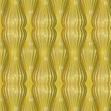 Teste padrão abstrato amarelo ilustração do vetor