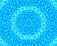 Teste padrão abstrato azul ilustração stock