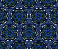 Teste padrão abstrato azul do fundo Imagens de Stock Royalty Free