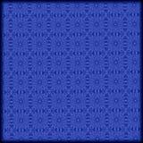 teste padrão abstrato azul tirado mão Foto de Stock
