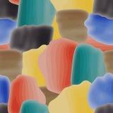 Teste padrão abstrato colorido sem emenda Imagens de Stock Royalty Free