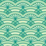 Teste padrão abstrato com abacaxi Fotografia de Stock Royalty Free