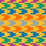 Teste padrão abstrato com figuras coloridas Foto de Stock