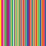 Teste padrão abstrato com listras coloridas Imagens de Stock