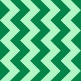 Teste padrão abstrato com ziguezague verde Fotografia de Stock Royalty Free