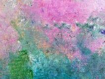 Teste padrão abstrato contemporâneo da pintura foto de stock