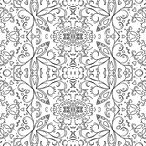 Teste padrão abstrato, contornos Foto de Stock