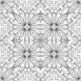 Teste padrão abstrato, contornos Imagens de Stock