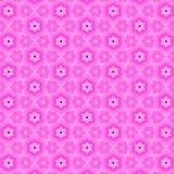 Teste padrão abstrato cor-de-rosa Imagens de Stock Royalty Free