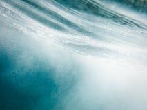 Teste padrão abstrato da água Fotografia de Stock Royalty Free