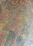 Teste padrão abstrato da bolha do arco-íris Foto de Stock Royalty Free