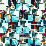 Teste padrão abstrato da cor no estilo dos grafittis ilustração do vetor da qualidade para seu projeto ilustração do vetor