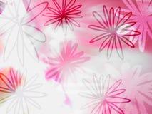 Teste padrão abstrato da flora Fotografia de Stock